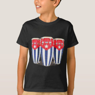 T-shirt Congas cubaines