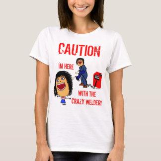 T-shirt Conjoint fou de soudeuse