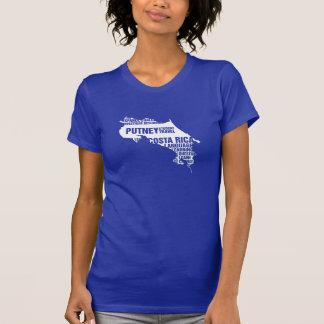 T-shirt Connaissance des langues Costa Rica dans des