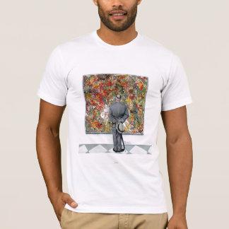 T-shirt Connaisseur d'art par Norman Rockwell