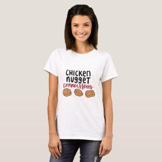 T-shirt Connaisseur de pépite de poulet