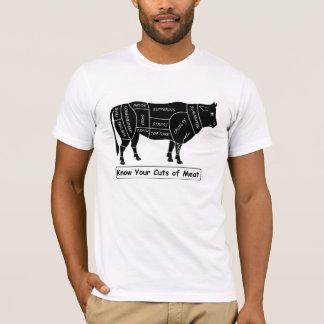 T-shirt Connaissez vos coupes de viande