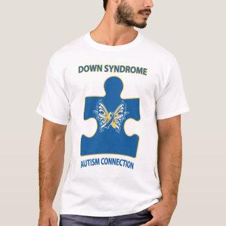 T-shirt Connexion d'autisme de syndrome de Down