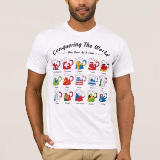 T-shirt Conquérant la bière du monde un à la fois