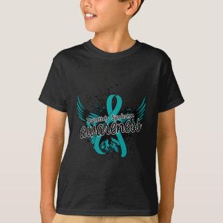T-shirt Conscience 16 (Teal) de syndrome de la Tourette