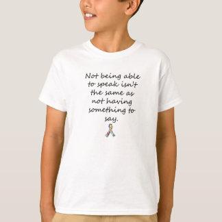 T-shirt Conscience d'autisme non-verbale
