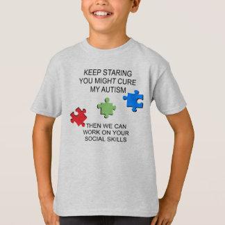 T-shirt Conscience de désordre de spectre d'autisme
