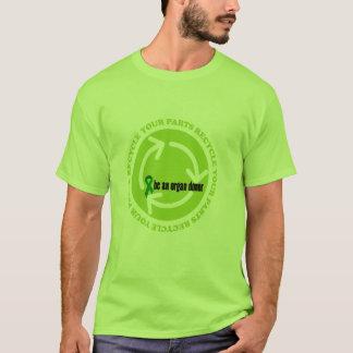 T-shirt Conscience de donation d'organe