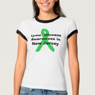 T-shirt Conscience de la maladie de Lyme dans la chemise