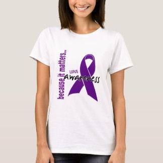 T-shirt Conscience de lupus