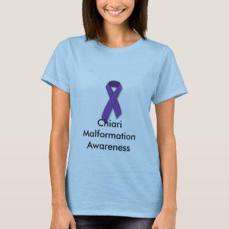 T-shirt Conscience de malformation de Chiari