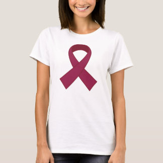 T-shirt Conscience de ruban de Bourgogne