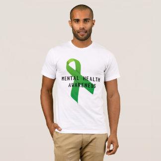 T-shirt Conscience de santé mentale - combattons le