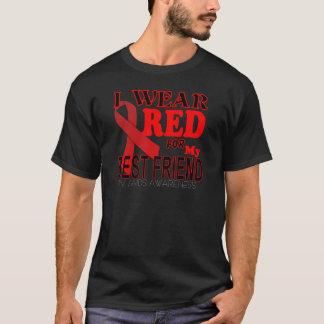 T-shirt CONSCIENCE de SIDA d'HIV pour la conscience T de