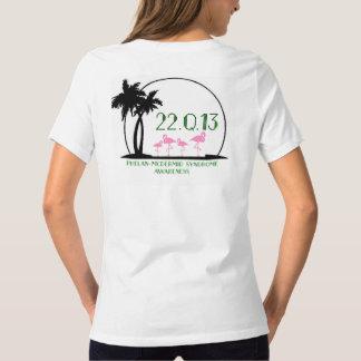 T-shirt Conscience de syndrome de Phelan-McDermid