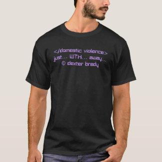 T-shirt conscience de violence familiale…