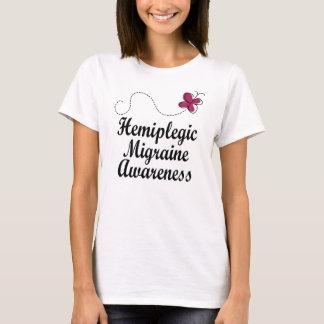 T-shirt Conscience hémiplégique de migraine