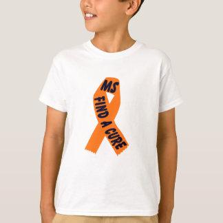 T-shirt Conscience orange de ruban
