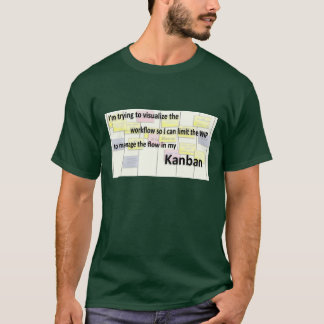 T-shirt Conseil de Kanban agile