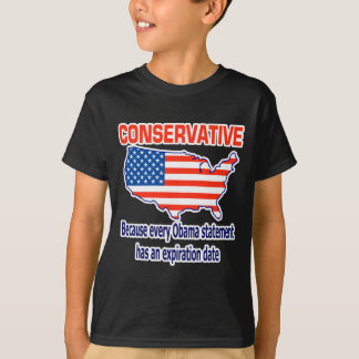 T-shirt Conservateur - anti Obama