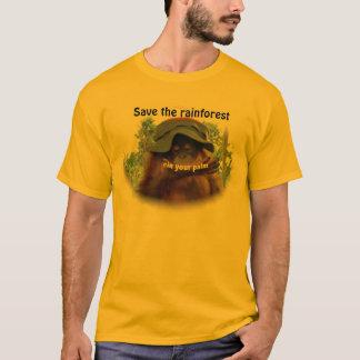 T-shirt Conservation d'orang-outan de forêt tropicale