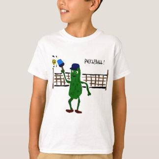 T-shirt Conserves au vinaigre jouant l'art de primitif de