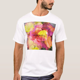 "T-shirt ""Considérez les lis… """