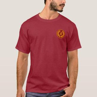 T-shirt Constantine la grande chemise de Laurea de rouge