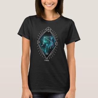 T-shirt Constellation de Balance et symbole de zodiaque