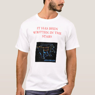 T-SHIRT CONSTELLATION D'OURS