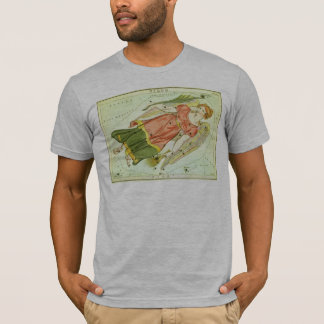 T-shirt Constellation vintage de Vierge d'astrologie de