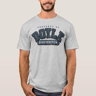 T-shirt CONSTRUCTION de DOYLE, pièce en t sportive, BLEU