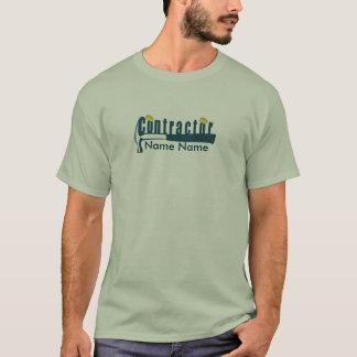 T-shirt Construction élégante   d'entrepreneur