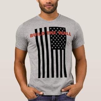 T-shirt Construisez le mur - rendez l'Amérique grande