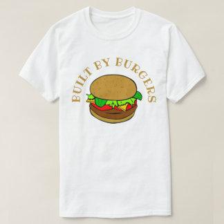 T-shirt Construit par des hamburgers