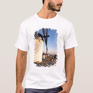 T-shirt Consuegra, La Mancha, Espagne, moulins à vent