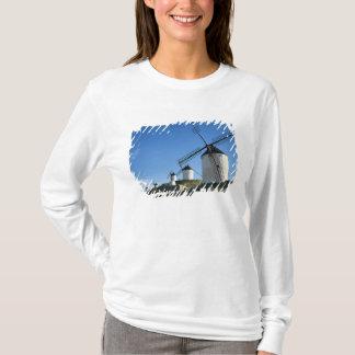 T-shirt Consuegra, La Mancha, Espagne, moulins à vent 2