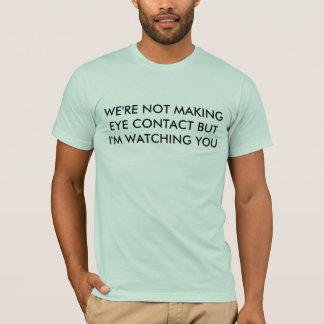 T-shirt contact visuel