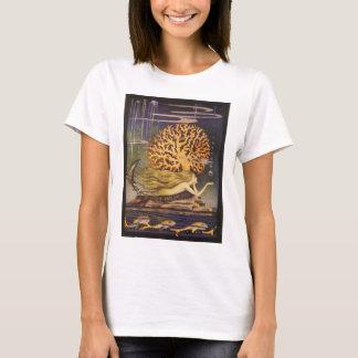 T-shirt Conte de fées vintage, petite sirène dans le