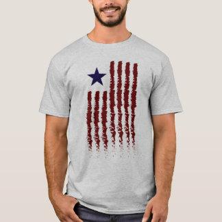T-shirt Contemporain de drapeau américain