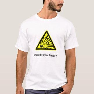T-shirt Contenu sous pression