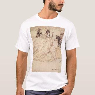 T-shirt Contes de fées vintages, Cendrillon par Arthur