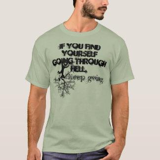 T-shirt Continuez à aller