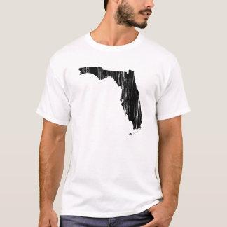 T-shirt Contour affligé d'état de la Floride