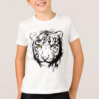 T-shirt Contour de tigre