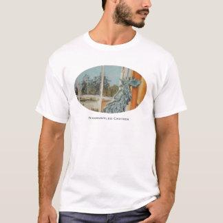 T-shirt contrarié de poulet