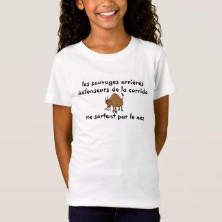 t-shirt contre corrida