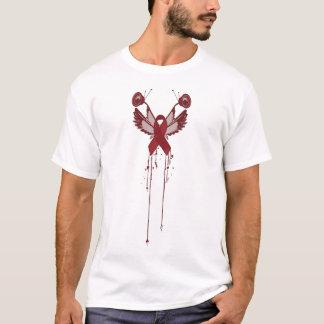 T-shirt Contre des aides