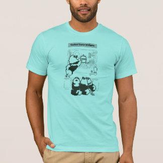 T-shirt contre- intelligence de keeshond