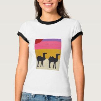 T-shirt Contrefiche de chameau